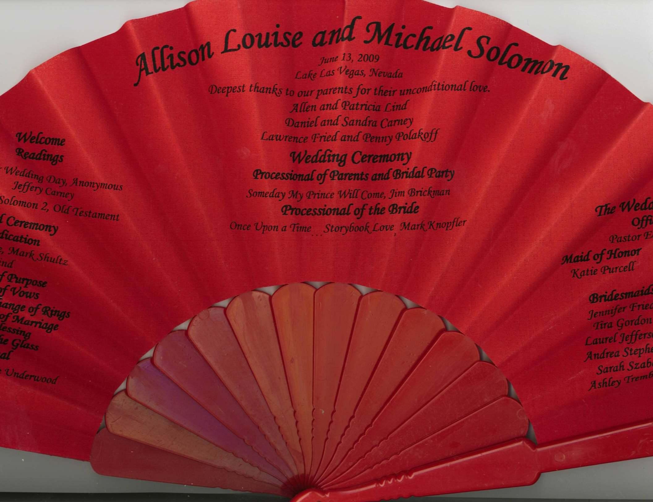 Luxury Wedding Invitation Fan Ornament - Invitation Card Ideas ...