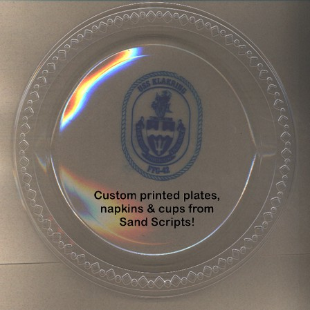 Customized research paper plates with photo