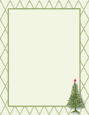 holiday letterhead papers from sand scripts