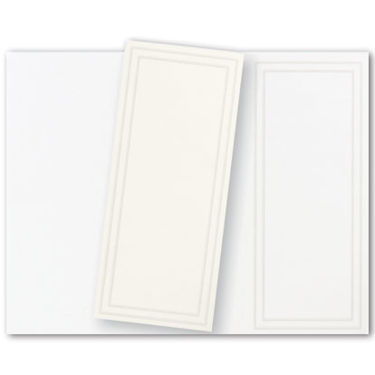 TRIFOLD PROGRAM PACK OF 40 Print your own wedding programs