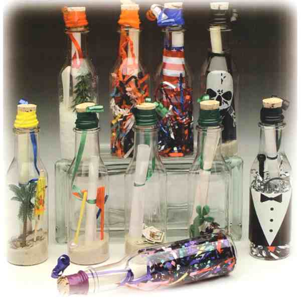 ... make your own message in a bottle creations. BOT- ...